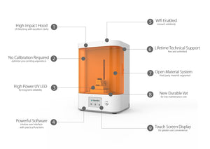 M-Jewelry 3D printer for high precision jewelry and dentistry