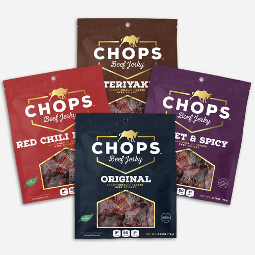Chops Jerky Variety Pack - Futurely