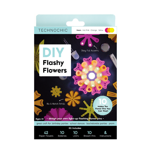 DIY Light-Up Flashy Flowers Kit by TechnoChic