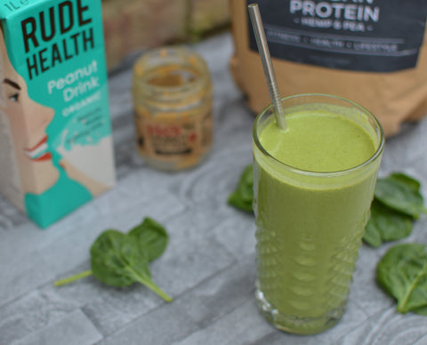 Green Peanut Shake Recipe | Neat Nutrition. Clean, Simple, No-Nonsense Protein.