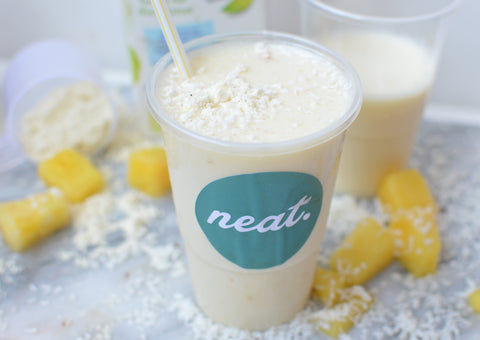 Pina Colada Protein Smoothie Recipe | Neat Nutrition. Active Nutrition, Reimagined For You.