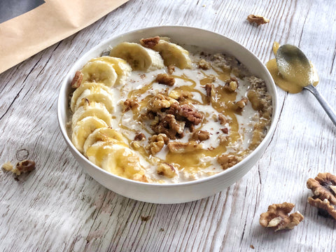 Banoffee Overnight Oats Recipe | Neat Nutrition. Clean, Simple, No-Nonsense Protein.