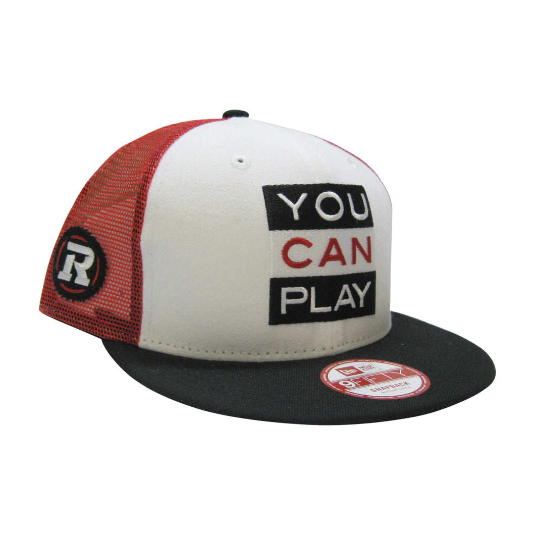 9Fifty Ottawa REDBLACKS You Can Play x CFL Hat
