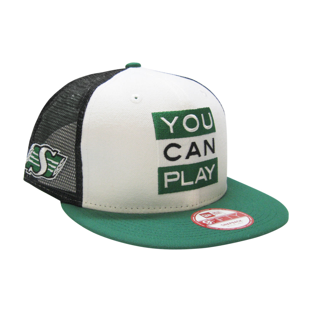 9Fifty Saskatchewan Roughriders You Can Play x CFL Hat