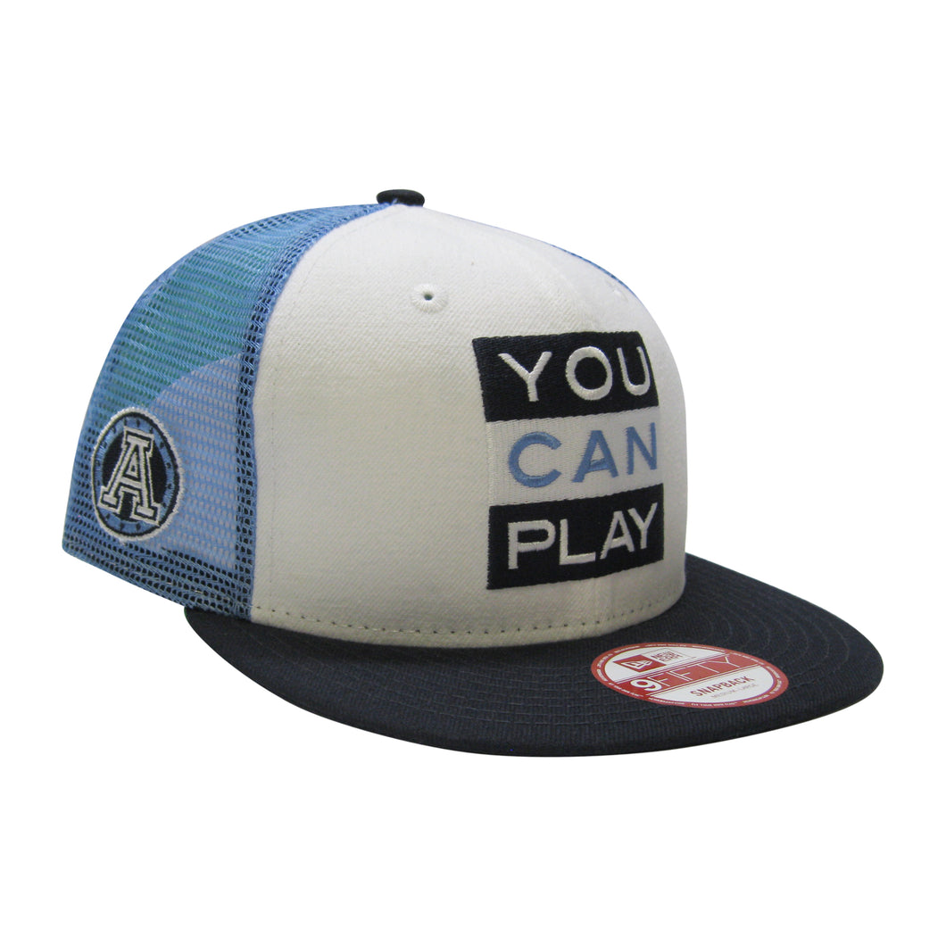 9Fifty Toronto Argonauts You Can Play x CFL Hat