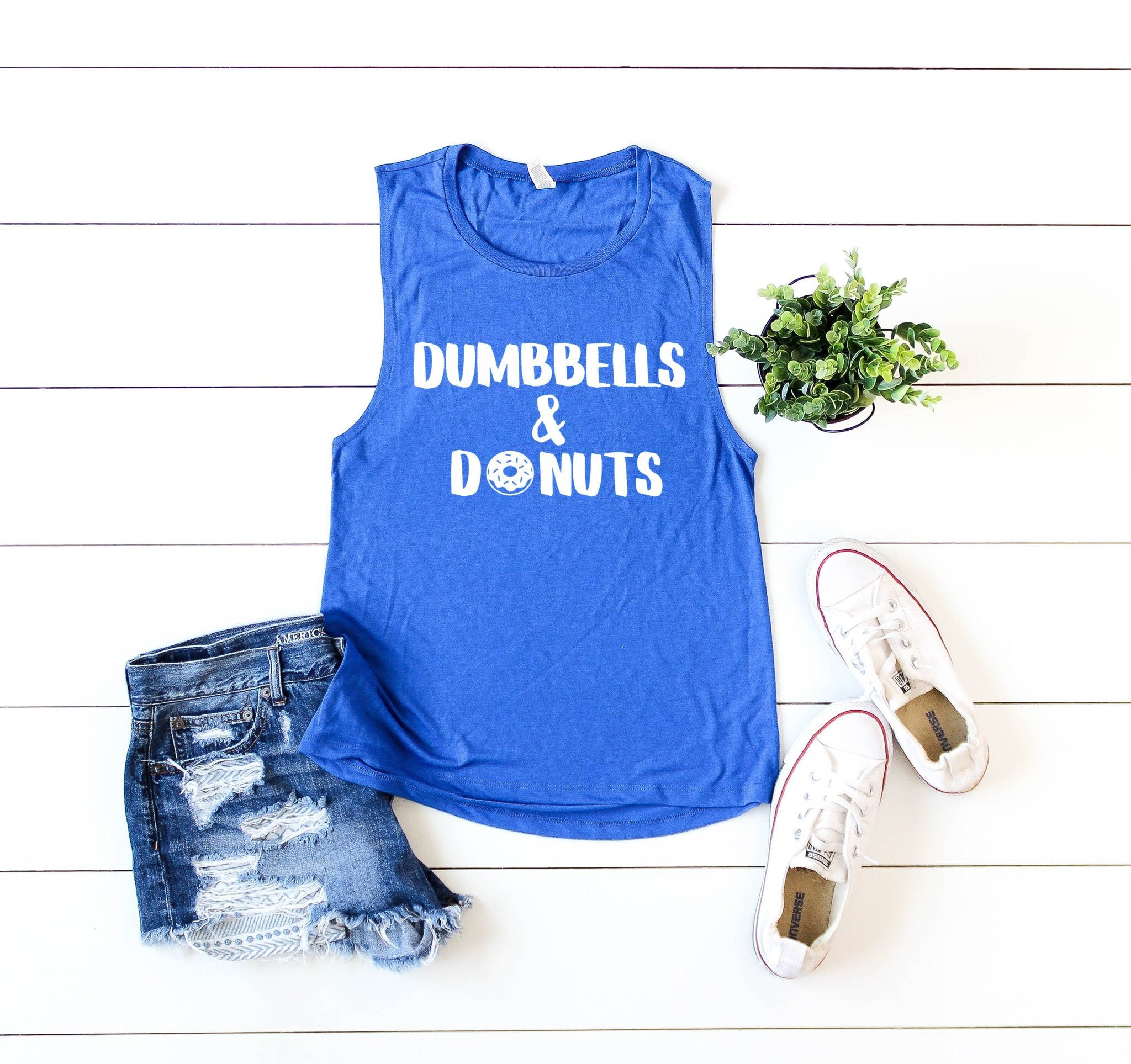 Dumbbells and Donuts - Nine 16