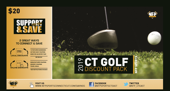 2020 CT Central/West Golf Discount Pack - NFP Sports CT East