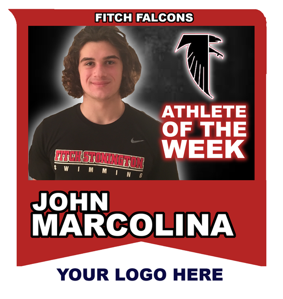2018-19 Fitch Falcons Spring Sports Athlete of the Week Sponsorship - NFP Sports CT East
