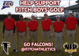 Fitch Falcons Golf CT Golf Discount Pack - NFP Sports CT East
