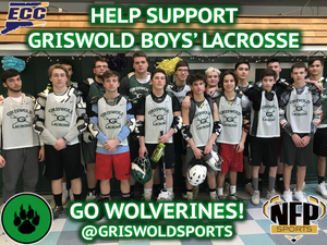 Griswold Wolverines Boys' Lacrosse Subway VIP Pack 2018 - NFP Sports CT East