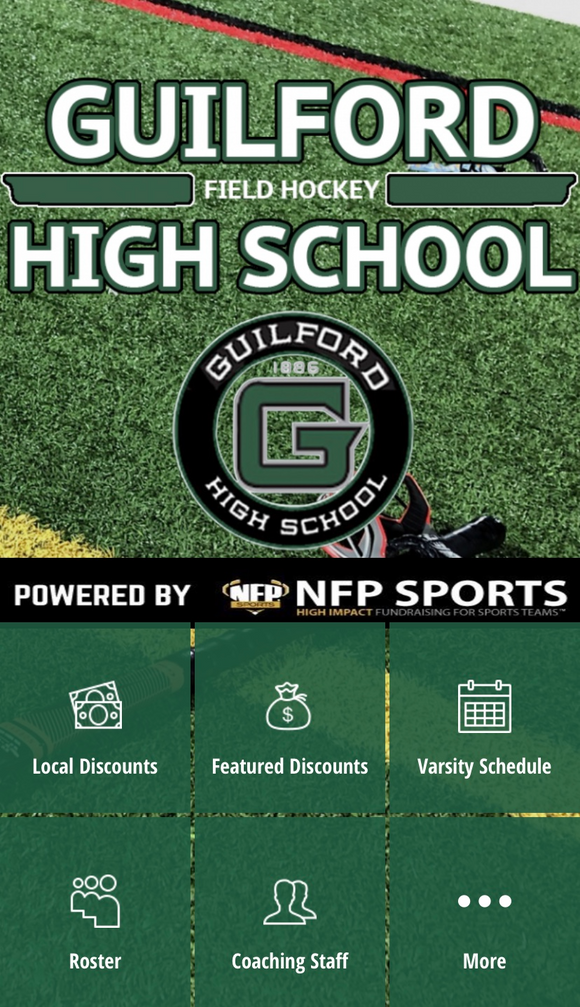 Guilford Field Hockey Mobile App
