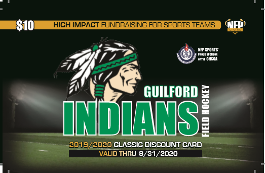 Guilford Field Hockey Classic Discount Card 2019 - NFP Sports CT East