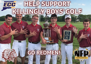 Killingly Redmen Golf CT Golf Discount Pack - NFP Sports CT East
