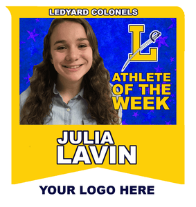 2018 Ledyard Colonels Spring Sports Athlete of the Week Sponsorship - NFP Sports CT East