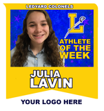 2018-19 Ledyard Colonels Athlete of the Week Yearly Sponsorship - NFP Sports CT East
