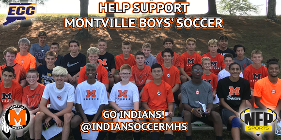 Montville Indians Boys' Soccer 2018 Moe's Southwest Grill VIP Card - NFP Sports CT East