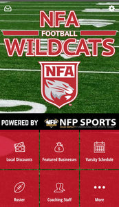 NFA WIldcats Football Mobile App