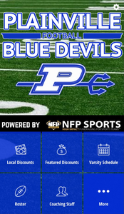 Plainville Blue Devils Mobile App 2020
