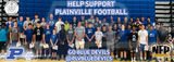 Plainville Blue Devils 2018 Football Premium Discount Card - NFP Sports CT East