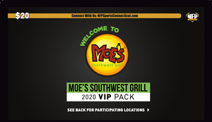Commerce ROTC 2020 Moe's Southwest Grill VIP Pack - NFP Sports CT East