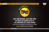 NFA Wildcats Girls' Soccer Moe's Southwest Grill VIP Card