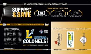 Ledyard Cheerleading Premium Discount Card - NFP Sports CT East