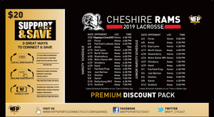 Cheshire Rams Boys' Lacrosse Premium Discount Pack 2019 - NFP Sports CT East