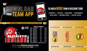 Manchester Football Premium Discount Card - NFP Sports CT East