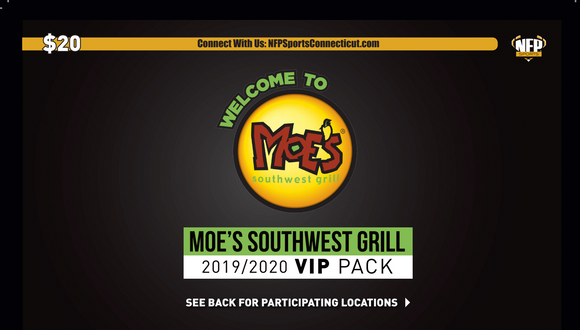 South Hadley Boys' Basketball Moe's Southwest Grill VIP Pack - NFP Sports CT East