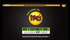 Commerce Raiders Football Moe's Southwest Grill VIP Pack - NFP Sports CT East