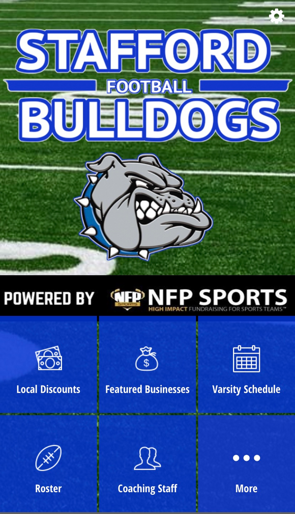 Stafford Bulldogs Co-Op Football Mobile App