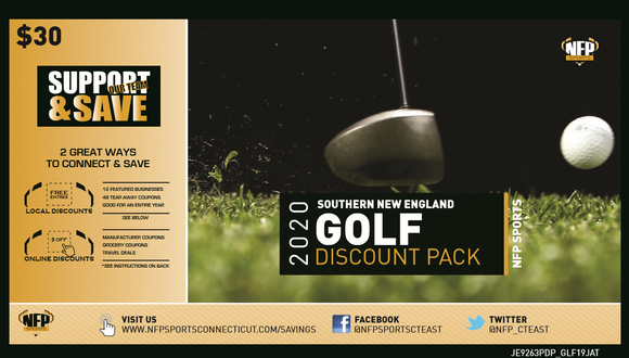 Ludlow Wrestling 2020 Southern New England Golf Discount Pack - NFP Sports CT East