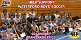 Waterford Lancers Boys' Soccer 2018 Moe's Southwest Grill VIP Card - NFP Sports CT East