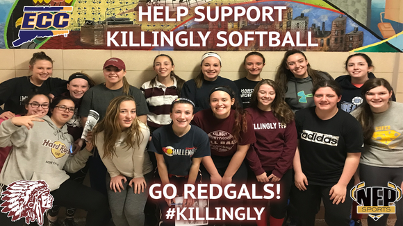 Killingly Redgals Softball Moe's Southwest Grill VIP Card - NFP Sports CT East