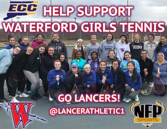 2019 Waterford Lancers Girls' Tennis Moe's Southwest Grill VIP Card - NFP Sports CT East