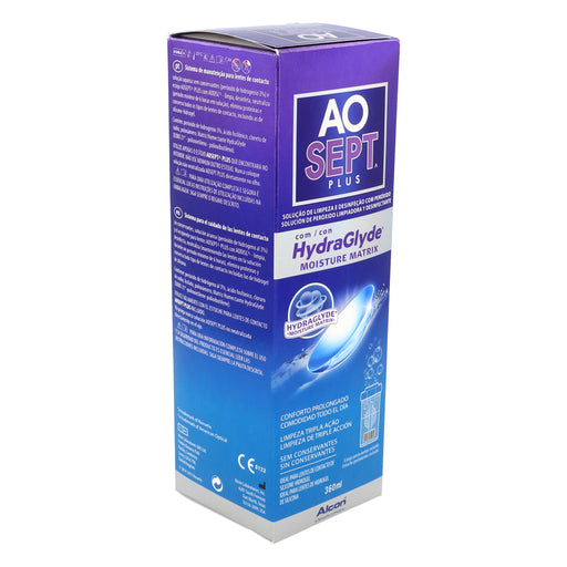 Aosept Plus 360ml HydraGlyde