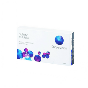 Biofinity Multifocal Pack 3 Lentes