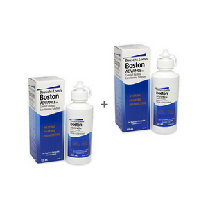 Líquidos para Lentes de Contacto Boston Advance Pack 2 x 120ml
