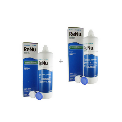 Renu Multiplus Pack 2 x 500ml - Industria dos Óculos