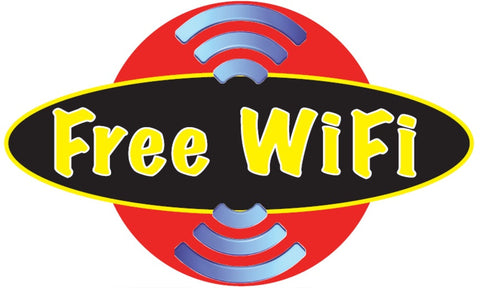 Free Wi-Fi Decal