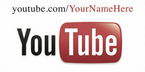 YouTube Decal - Customized URL