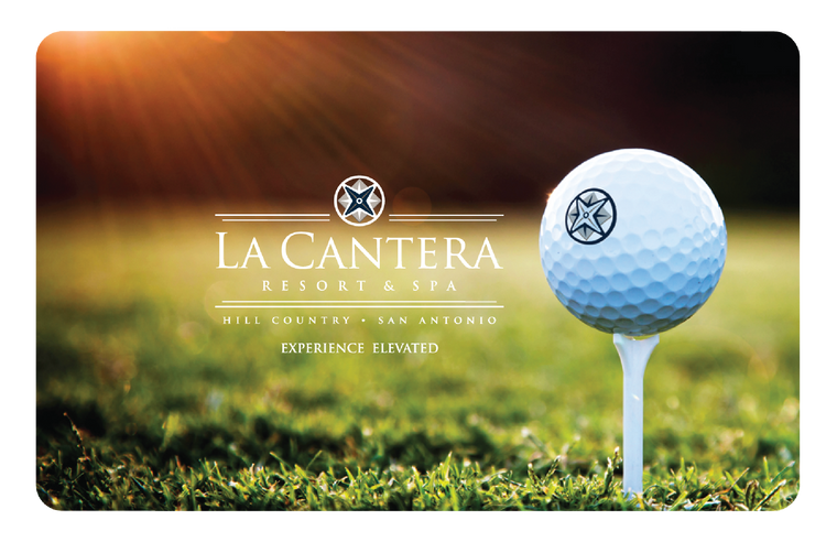 La Cantera Resort Golf Gift Card