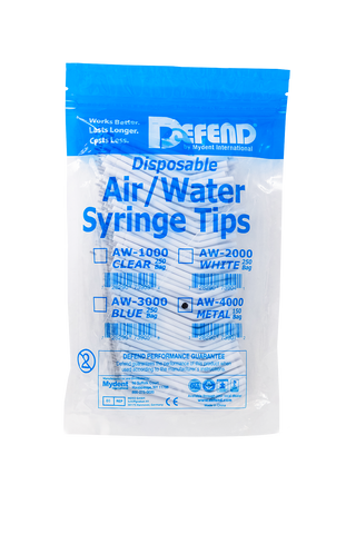 Air/Water Syringe Tips