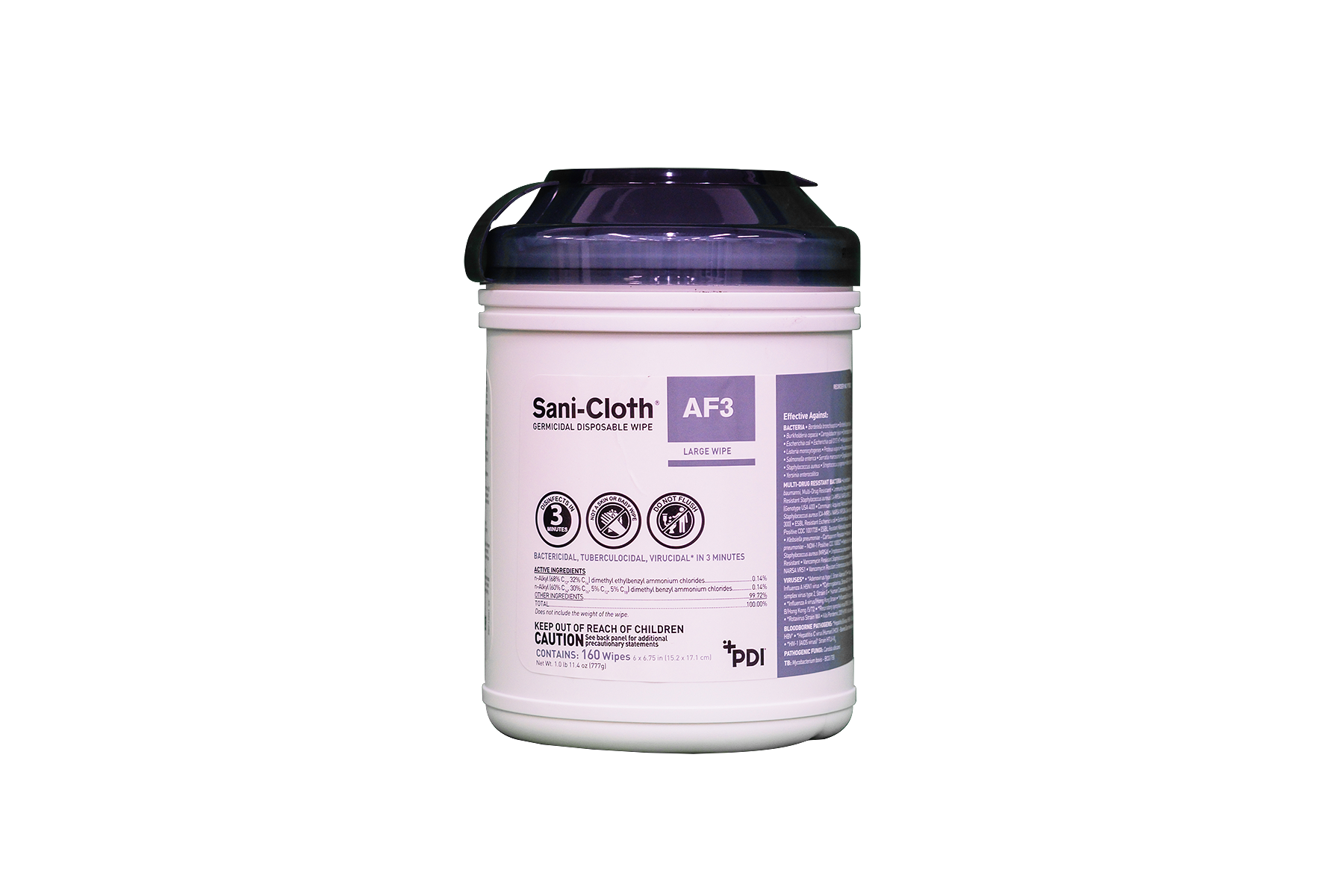 PDI Sani-Cloth Germicidal AF3 Germicidal Wipe