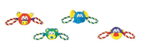 Chompers WB11612M-9 Nylon Tugz Dog Toy, Assorted
