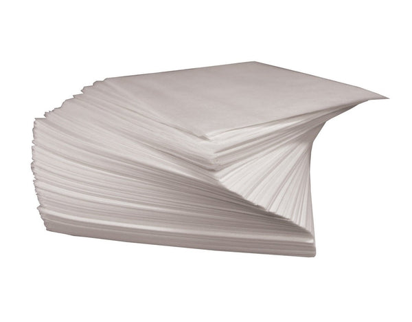 "Weston 10-0102-W Dry Waxed Patty Paper, 5.5"" x 5.5"" Sheet, White"