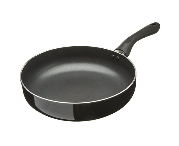 "Ecolution EABK-1028 Deep Chef Pan, 11"", Black"