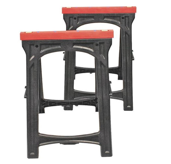 "North American Tool 52229 Folding Sawhorses Hold, 33.07"" x 23.03"" x 16.14"""