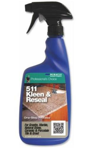 Miracle Sealants KL-RE-32OZ-6/1 Non-Acidic Kleen & Reseal, 32 Oz, Purple