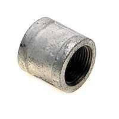 "Worldwide Sourcing 21-1 1/2G 1-1/2"" Galvanized Malleable Coupling"